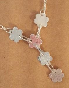 fleur Y necklace