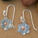 Copper daisy drops