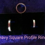Heavy square profile rings